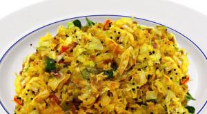 cabbage-poriyal