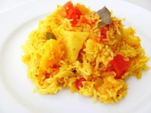 tomato-rice-bath