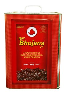 NAV BHOJAN BLEND MUSTARD + SUPEROLIEN 15 KG TIN copy