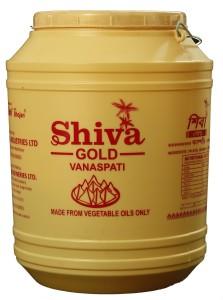 SHIVA GOLD VANASPATI 15 LTR JAR