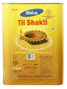 SHIVA TIL SAKTI 15 LTR TIN + 10 % EXTRA = 15 KG TIN