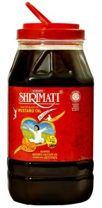 SHRIMATI MUSTARD OIL 5LTR JAR copy